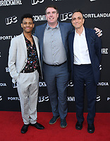 "15 May 2018 - North Hollywood, California - Tyrel Jackson WIlliams, Joel Church-Cooper, Hank Azaria. IFC's ""Portlandia"" and ""Brockmire"" FYC Event held at the Saban Media Center at the Television Academy. Photo Credit: Birdie Thompson/AdMedia"