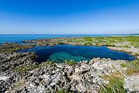A coastal lagoon along the south shore of Guanahacabibes Peninsula, Cuba.