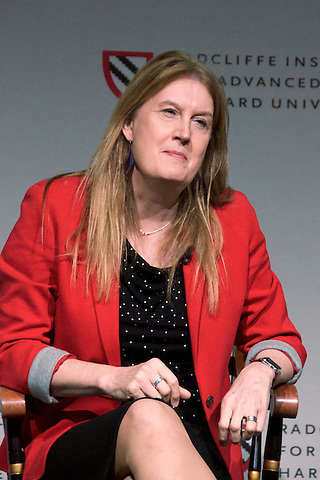 Jennifer Finney Boylan, writer and transgender activist speaking about gender, privilege,politics and imagination at Radcliffe Institute Harvard University Cambridge MA 2.16.17