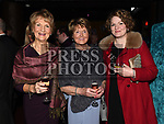 Anne and Éilish Walsh and Bridie Durnin at the ABACAS Ball in the Westcourt Hotel. Photo:Colin Bell/pressphotos.ie