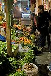 Istanbul, Turkey, Vegetable market, Galatasaray district, European Quarter,