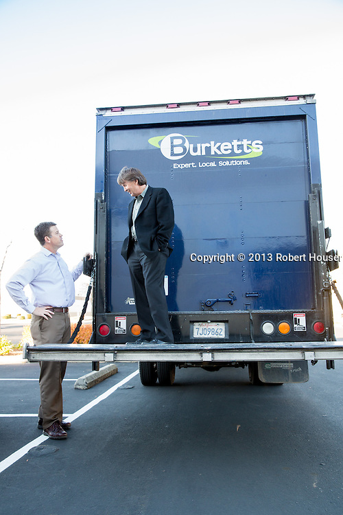 Randy Mael, President and Todd Thurman CEO - Burketts Office Supply