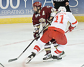 Stephen Gionta, Matt Christie - The Boston College Eagles defeated the Miami University Redhawks 5-0 in their Northeast Regional Semi-Final matchup on Friday, March 24, 2006, at the DCU Center in Worcester, MA.