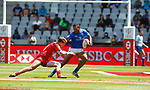 Tomasi Alosio, Day 1 at Cape Town Stadium duirng the HSBC World Rugby Sevens Series 2017/2018, Cape Town 7s 2017- Photo Martin Seras Lima