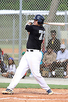 Rowdy Tellez, #73 of Elk Grove High School, California playing for the Team Elite during the WWBA World Champsionship 2012 at the Roger Dean Complex on October 27, 2012 in Jupiter, Florida. (Stacy Jo Grant/Four Seam Images)..