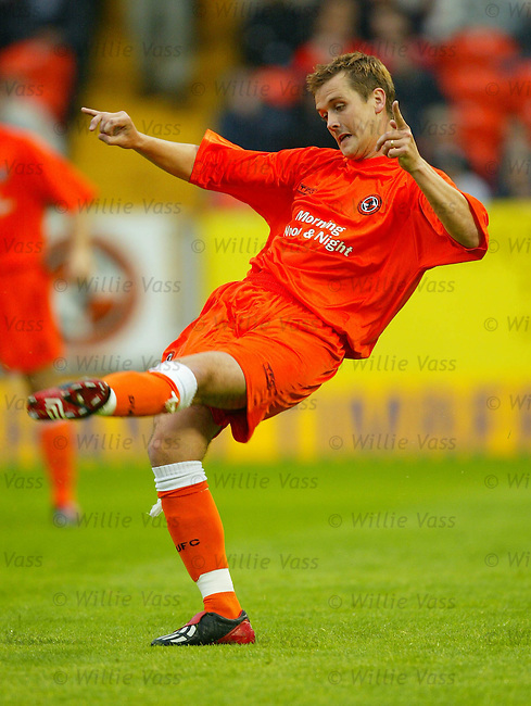 Danny Griffin, Dundee Utd.Stock season 2003-2004..pic willie vass