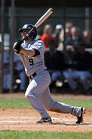 February 28, 2010:  Shortstop Louie Picconi (9) of the Penn State Nittany Lions during the Big East/Big 10 Challenge at Raymond Naimoli Complex in St. Petersburg, FL.  Photo By Mike Janes/Four Seam Images