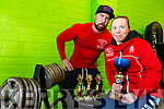 Local woman Danielle O'Sullivan preparing for world Power Lifting championships with trainer David Nelligan