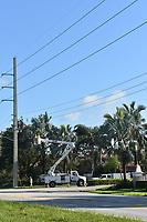 2017 FPL Hurricane Irma restoration in Broward, Fla. on Sept. 12, 2017