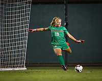 Stanford, CA - October 3, 2019: Katie Meyer at Laird Q Cagan Stadium. The Stanford Cardinal beat the Washington State Cougars 5-0.