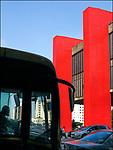 Predio do Masp na Avenida Paulista, Sao Paulo. 2018. foto de Juca Martins.