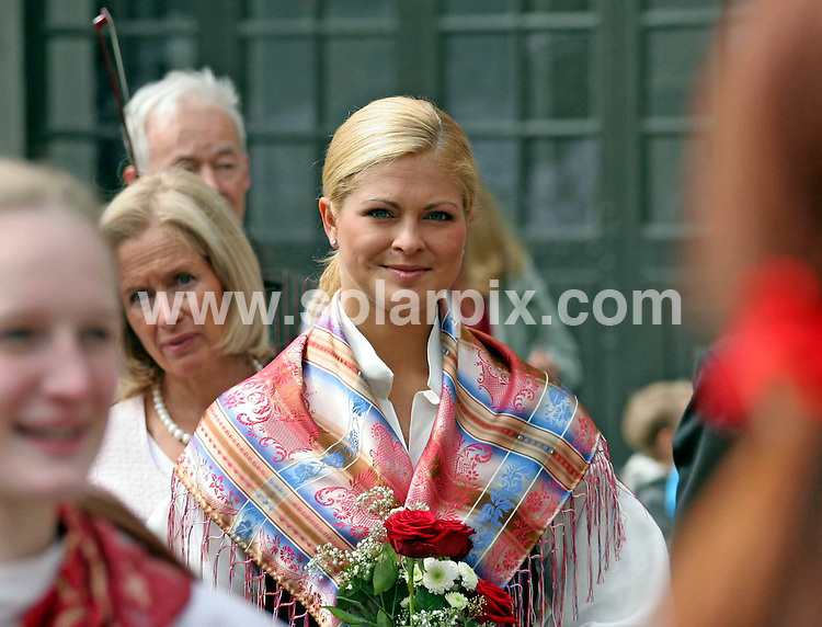 **ALL ROUND PICTURES FROM SOLARPIX.COM**.**SYNDICATION RIGHTS FOR UK AND SPAIN ONLY**.Princess Madeleine of Sweden opens the gates to the Stockholm Palace for the annual 'Open Palace' event, which allows public to visit the palace, as part of the celebrations of Swedish National Day. Stockholm, Sweden. 6 June 2009..This pic: Princess Madeleine of Sweden..JOB REF: 9194 PRT (Berggren   DATE: 06_06_2009.**MUST CREDIT SOLARPIX.COM OR DOUBLE FEE WILL BE CHARGED**.**ONLINE USAGE FEE GBP 50.00 PER PICTURE - NOTIFICATION OF USAGE TO PHOTO @ SOLARPIX.COM**.**CALL SOLARPIX : +34 952 811 768 or LOW RATE FROM UK 0844 617 7637**