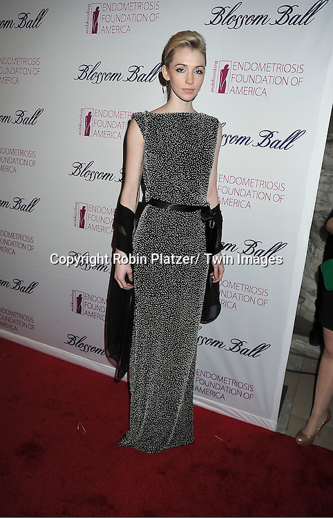 model Kaitlin Raymond attends the Endometriosis Foundation of America 4th Annual  Blossom Ball on March 15, 2012 at The New York Public Library in New York City.