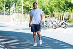 26.06.2020, Trainingsgelaende am wohninvest WESERSTADION,, Bremen, GER, 1.FBL, Werder Bremen Training, im Bild<br /> <br /> Philipp Bargfrede (Werder Bremen #44)<br /> auf dem Weg zum Abschlusstraining in zivil<br /> <br /> <br /> <br /> Foto © nordphoto / Kokenge