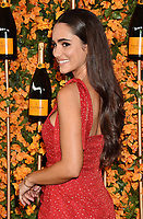 PACIFIC PALISADES, CA - OCTOBER 06: Alicia Sanz arrives at the 9th Annual Veuve Clicquot Polo Classic Los Angeles at Will Rogers State Historic Park on October 6, 2018 in Pacific Palisades, California.<br /> CAP/ROT/TM<br /> &copy;TM/ROT/Capital Pictures