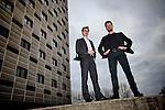 Nederland, Utrecht, 21-02-2013 Paul Vulto (L)  en Joost Joore van Mimetas.  FOTO: Gerard Til