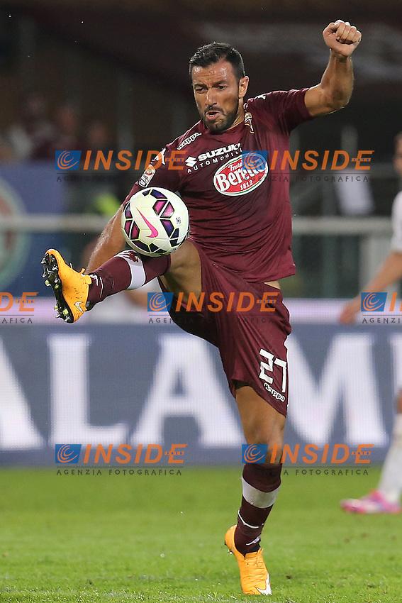 Fabio Quagliarella Torino, Torino 21-9-2014, Stadio Olimpico, Football Calcio 2014/2015 Serie A, Torino - Verona, Foto Marco Bertorello/Insidefoto