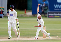 Darren Stevens bowls for Kent during the Specsavers County Championship division two game between Kent and Glamorgan (day 3) at the St Lawrence Ground, Canterbury, on Sept 20, 2018