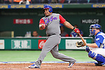 Alfredo Despaigne (CUB), <br /> MARCH 12, 2017 - WBC : <br /> 2017 World Baseball Classic <br /> Second Round Pool E Game <br /> between Cuba 1-4 Israel <br /> at Tokyo Dome in Tokyo, Japan. <br /> (Photo by YUTAKA/AFLO SPORT)