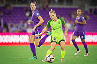 Orlando, FL - Thursday September 07, 2017: Jess Fishlock during a regular season National Women's Soccer League (NWSL) match between the Orlando Pride and the Seattle Reign FC at Orlando City Stadium.