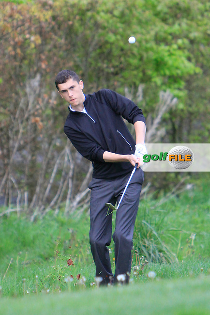 Caolan Kennedy (Forest Little) on the 5th during the Mullingar Scratch Trophy Day 2 at Mullingar Golf Club Belvedere 19th May 2013.Picture: Thos Caffrey www.golffile.ie...