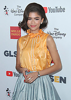 BEVERLY HILLS - OCTOBER 21:  Zendaya at the 2017 GLSEN Respect Awards at Beverly Wilshire Four Seasons Hotel at The Grove on October 20, 2017 in Beverly Hills, California. (Photo by Scott Kirkland/PictureGroup)