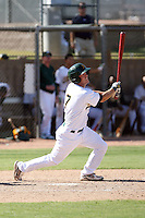 Daniel Pettiti - Oakland Athletics - 2010 Instructional League.Photo by:  Bill Mitchell/Four Seam Images..