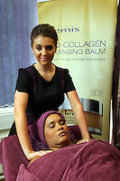 Pictured: A beautician. Monday 22 September 2014<br /> Re: Cardiff and Vale College.