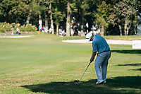 Robert Macintyre (SCO) in action on the 3rd hole during the third round of the 76 Open D'Italia, Olgiata Golf Club, Rome, Rome, Italy. 12/10/19.<br /> Picture Stefano Di Maria / Golffile.ie<br /> <br /> All photo usage must carry mandatory copyright credit (© Golffile | Stefano Di Maria)