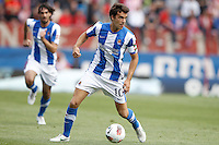02.05.2012 SPAIN -  La Liga matchday 20th  match played between Atletico de Madrid vs Real Sociedadl (1-1) at Vicente Calderon stadium. The picture show Xabier Prieto Argarate (Midfielder of Real Sociedad)