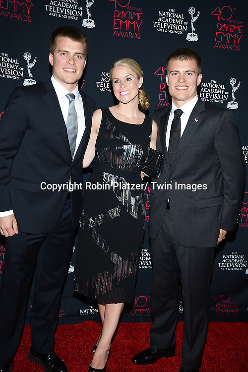 attends the 40th Annual Daytime Creative Arts Emmy Awards on June 14, 2013 at the Westin Bonaventure Hotel in Los Angeles, California.