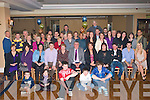 -6588-6592.----------.Surprise cracker.----------------.Joe Boylan(seated centre)from Kevin Barry Villas,Tralee got the land of his life when he walked in the AbbeyGate Hotel,Maine St Tralee,last Friday night to find a massive surprise 70th birthday party very secretly organised by his loving wife Josephine and kids,John,Danial,Breda,Dorothy and Martina,O what a night.