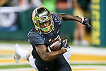 Baylor Bears wide receiver Tony Nicholson (13) in action during the game between the Oklahoma State Cowboys and the Baylor Bears at the McLane Stadium in Waco, Texas.