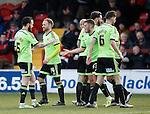 Matt Done of Sheffield Utd celebrates the first goal - English League One - Fleetwood Town vs Sheffield Utd - Highbury Stadium - Fleetwood - England - 5rd March 2016 - Picture Simon Bellis/Sportimage