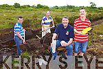 "A traditional ""Day in the Bog' style fundraiser for Nano Nagle School will be held in Gortcreen Bog, Listowel this Saturday July 19th from 9am to 1pm. Pictured were: Seamus Stack, Edward O'Riordan, Sean White and Damian Stack."