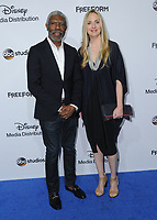 21 May 2017 - Burbank, California - Vondie Curtis-Hall, Hope Davis. ABC Studios and Freeform International Upfronts held at The Walt Disney Studios Lot in Burbank. Photo Credit: Birdie Thompson/AdMedia