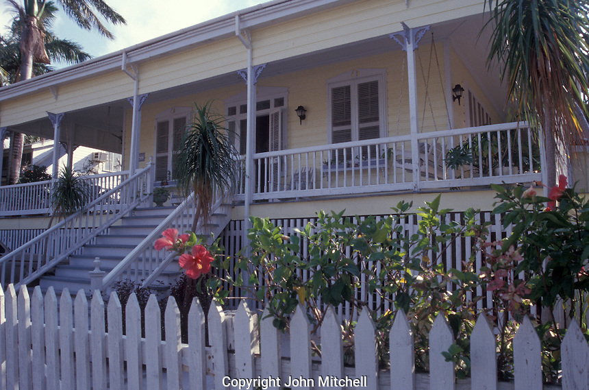 Colton House, a restored british colonial guest house  in the Fort George District of  Belize City, Belize