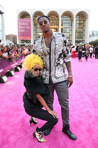 NEW YORK, NY - JULY 11: Teyana Taylor and Iman Shumpert  at VH1's Hip Hop Honors at David Geffen Hall at Lincoln Center in New York City on July 11, 2016. Credit: Walik Goshorn/MediaPunch