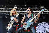 THE DEAD DAISIES - David Lowry and Marco Mendoza - performing live on Day One of the Ramblin' Man Fair in Mote Park Maidstone Kent UK - 23 Jul 2016. Photo credit: Zaine Lewis/IconicPix