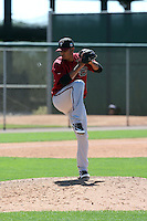 Anfernee Benitez - Arizona Diamondbacks 2016 spring training (Bill Mitchell)