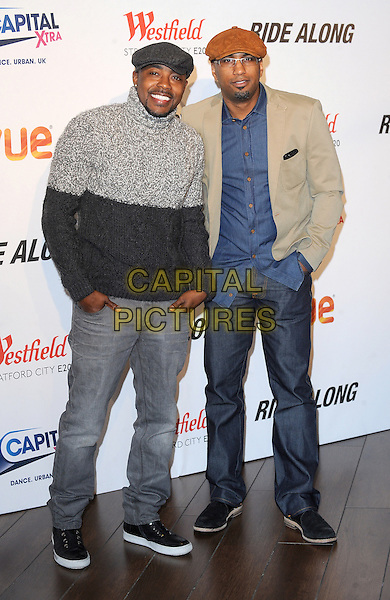 LONDON, ENGLAND - FEBRUARY 27: Will Packer and Tim Story attend a Capital Xtra Special Fan Screening of Ride Along at Westfield Stratford City on February 27, 2013 in London, England.<br /> CAP/BEL<br /> &copy;Tom Belcher/Capital Pictures