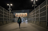 Tijuana, Mexico, sept 2016.Entering in Mexico from San Diego/TIjuana border