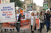 Protest against cuts in the NHS and privitisation of the health service, Oxford
