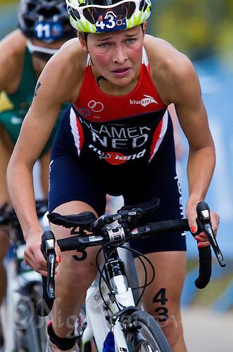 05 JUN 2011 - MADRID, ESP - Rachel Klamer - Madrid round of the women's ITU World Championship series .(PHOTO (C) NIGEL FARROW)