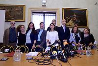 Roma, 21 Giugno 2017<br /> Virginia Raggi con la Giunta Capitolina&ldquo;#RomaRinasce. Un anno di risultati e prossimi obiettivi&rdquo;