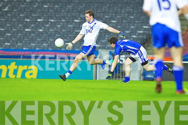 Paul O'Donoghue Saint Mary's, Cahersiveen, v Saint Mary's, Swanlinbar in the All Ireland Junior Club Championship at Croke park on Saturday evening.