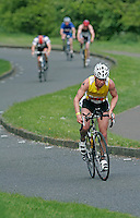 13 MAY 2006 - EDINBURGH, GBR - Kenny Short - British Duathlon Championships (PHOTO (C) NIGEL FARROW)