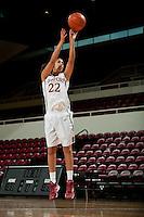 STANFORD, CA-SEPTEMBER 19, 2012 - Women's Basketball team photos.