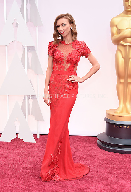 WWW.ACEPIXS.COM<br /> <br /> February 22 2015, LA<br /> <br /> Giuliana Rancic arriving at the 87th Annual Academy Awards at the Hollywood &amp; Highland Center on February 22, 2015 in Hollywood, California.<br /> <br /> By Line: Z15/ACE Pictures<br /> <br /> <br /> ACE Pictures, Inc.<br /> tel: 646 769 0430<br /> Email: info@acepixs.com<br /> www.acepixs.com