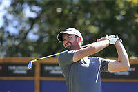 Scott Jamieson (SCO) tees off the 8th tee during Saturday's Round 3 of the 2018 Omega European Masters, held at the Golf Club Crans-Sur-Sierre, Crans Montana, Switzerland. 8th September 2018.<br /> Picture: Eoin Clarke | Golffile<br /> <br /> <br /> All photos usage must carry mandatory copyright credit (&copy; Golffile | Eoin Clarke)